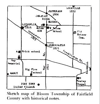 Township History Township Lot Splits Bloom Township Ohio Office